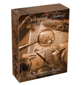 Asmodee Sherlock Holmes Consulting Detective: The Thames Murders