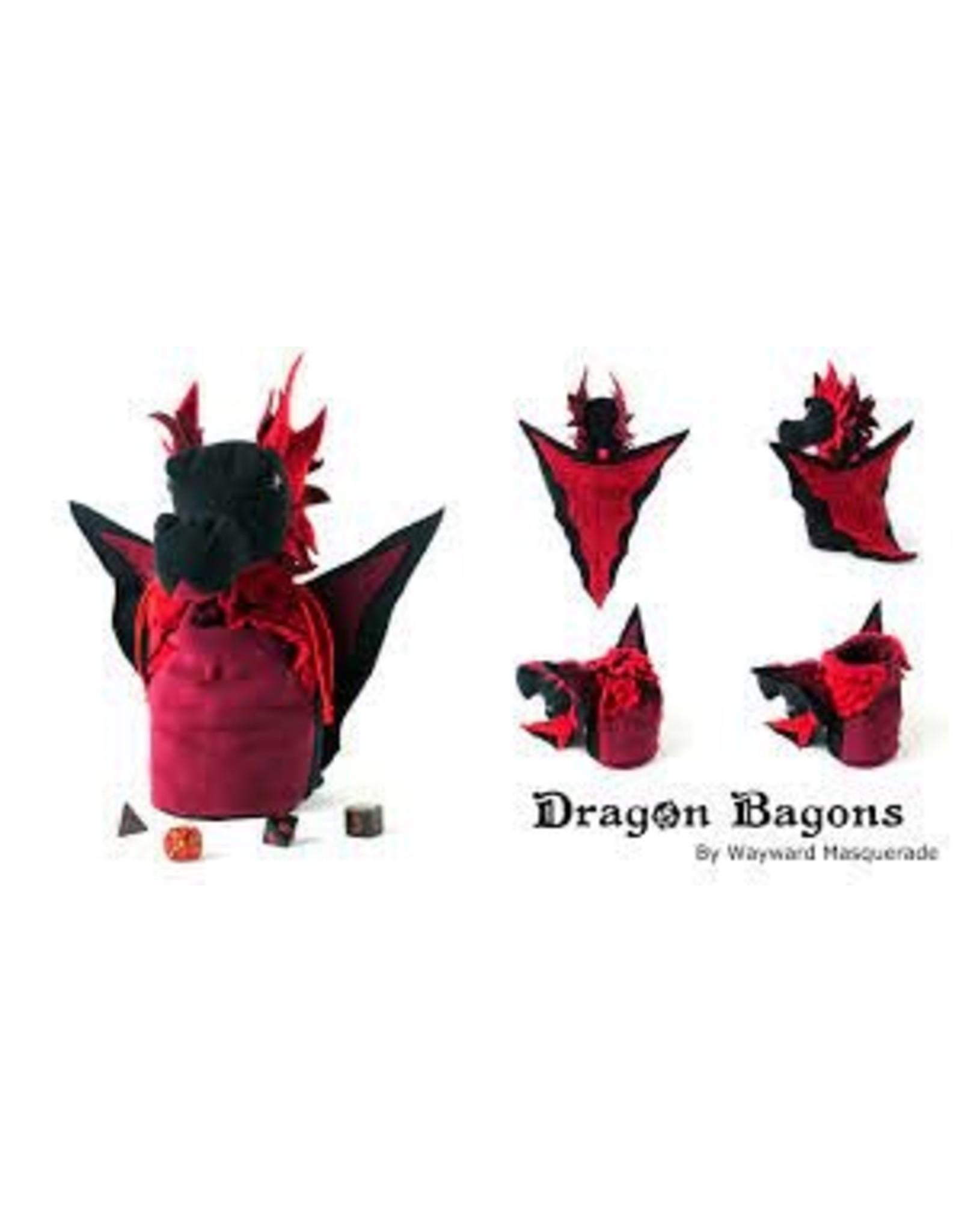 Dice Bag: Dragon Bagons Black-Red