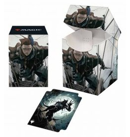 Ultra Pro Innistrad Midnight Hunt 100+ Deck Box V2 featuring Suspicious Stowaway