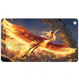 Ultra Pro Innistrad Midnight Hunt Playmat C featuring Sunstreak Phoenix