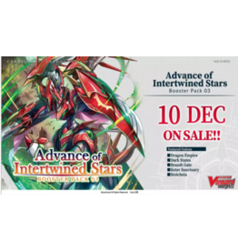 Bushiroad Cardfight Vanguard Advance of Intertwined Stars Boosters (December Pre-order)