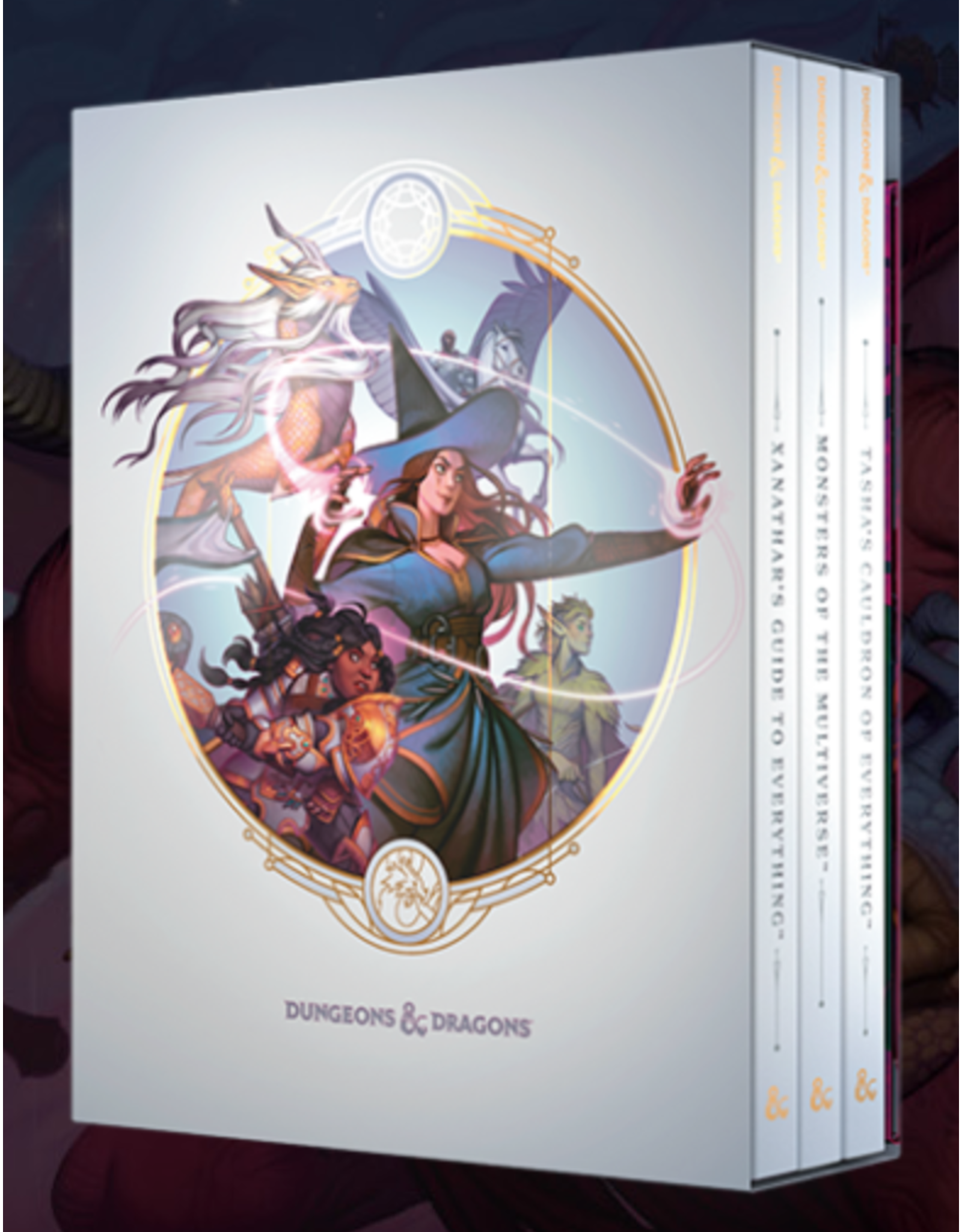 Dungeons & Dragons D&D 5e: Rules Expansion Gift Set (Alt Art)  (January Pre Order)