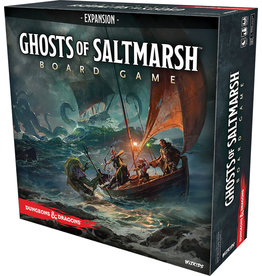 Wiz Kids D&D Ghosts of Saltmarsh Adventure System Board Game Expansion (Std)