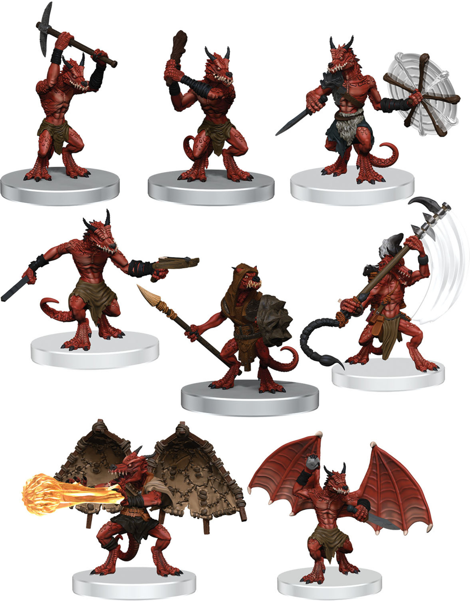 Wiz Kids D&D Icons of the Realms: Kobold Warband