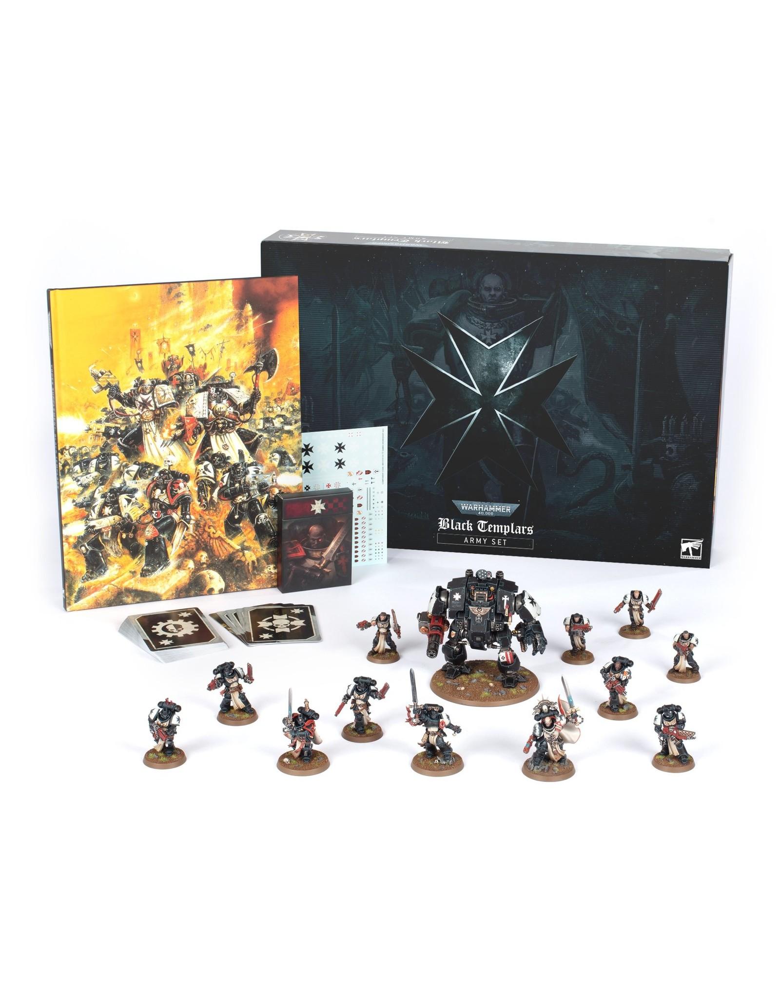 Warhammer 40K Black Templars Army Set (English)