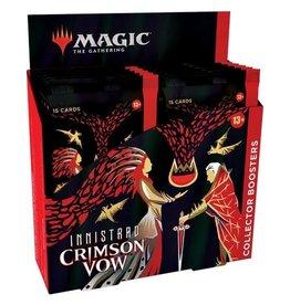 Magic MTG: Innistrad Crimson Vow Collector Booster (12Ct)