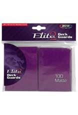 BCW DP: Deck Guard: Elite2 Matte MBRRY (100)