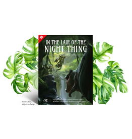 Atlas Games Planegea 5E Lair of the Night Thing Adventure (Pre Order) (2022)