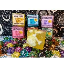 Hipp and Horn Gelatinous Cube Soap- Lemon Verbena