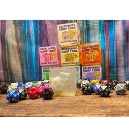 Hipp and Horn Gelatinous Cube Soap- Peaches & Cream
