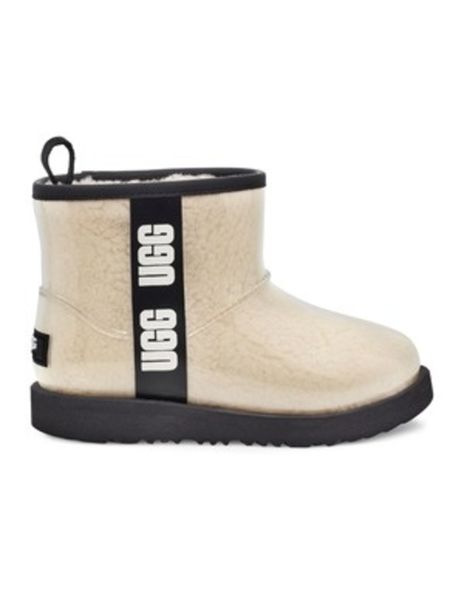 UGG UGGS CLEAR MINI CASUAL BOOTS