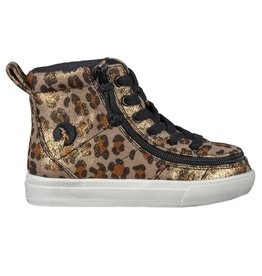 BILLY TODDLER HIGH TOP LEOPARD SHIMMER