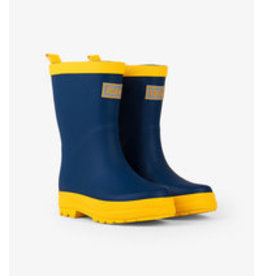 HATLEY HATLEY MATTE NAVY/YELLOW RAINBOOT