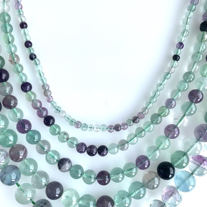 "Bead World Flourite 16"" Strand"