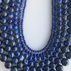 "Bead World Lapis Lazuli 16"" Strand"
