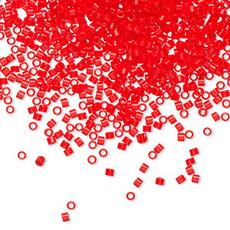 Miyuki Delica  #11 Opaque Red Db0727    7.5 gram vial