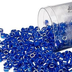 Miyuki Delica  #11 Opaque Rnbw Cobalt Blue Db0165 7.5 gram vial