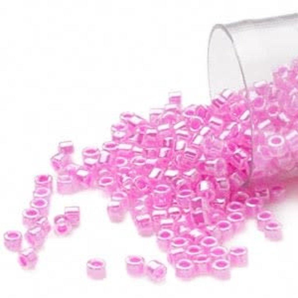 Miyuki Delica #11 Ceylon C-Lined Raspberry Db0247 7.5 gram vial