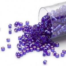Miyuki Delica #11 Silver Lined Blue Db0047   7.5 gram vial