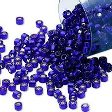 Miyuki Delica  #11 Silver-Lined Royal Purple Db0610 7.5 gram vial
