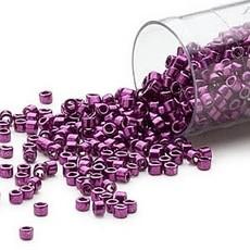 Miyuki Delica #11  Nickel Finish Fuchsia Db0463   7.5 gram vial