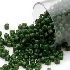 Miyuki Delica #11  Opaque Jade Green Db0663     7.5 gram vial