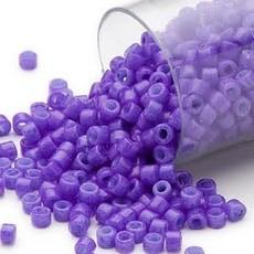 Miyuki Delica #11   Opaque Purple Db0661     7.5 gram vial