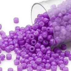 Miyuki Delica  #11  Opaque Red Violet Db1379 7.5 gram vial