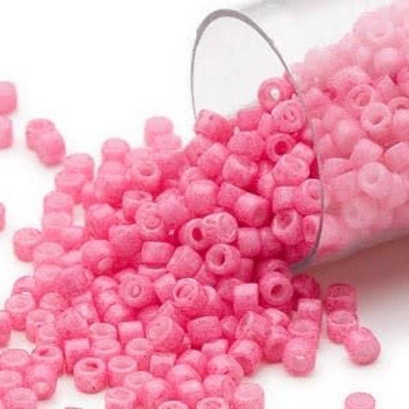 Miyuki Delica  #11 Opaque Rose Db1371 7.5 gram vial