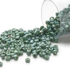 Miyuki Delica #11Opaque Matt Lstr Rnbw Leaf Db0373       7.5 gram vial