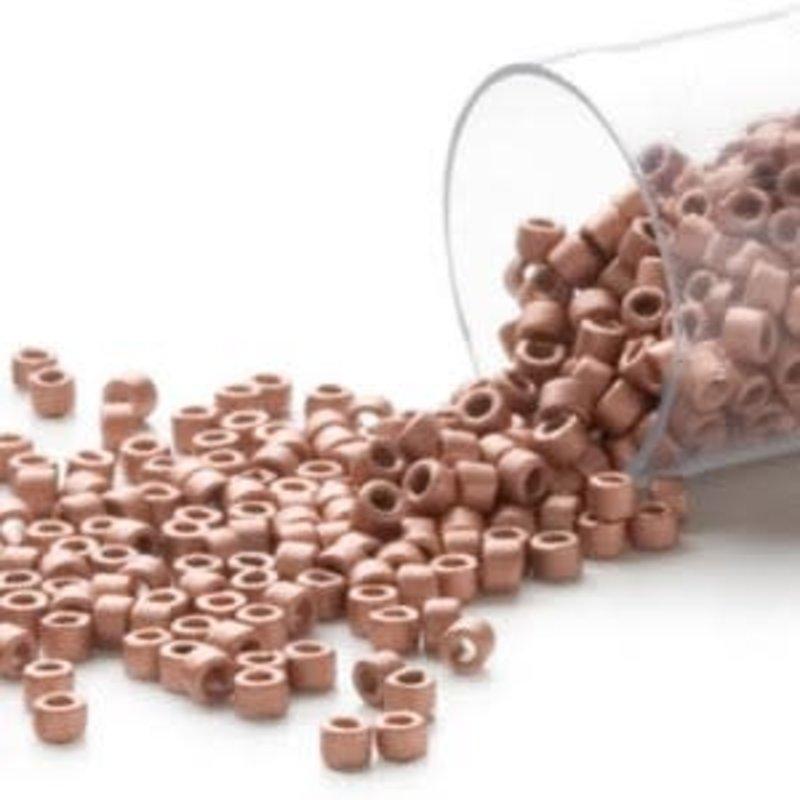 Miyuki Delica #11  Copper Db0340   7.5 gram vial