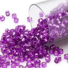Miyuki Delica  #11 Silver-Lined Red Violet Db1345 7.5 gram vial
