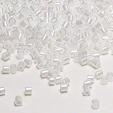 Miyuki Delica #8 Opaque Luster Pearl A1045 7.5 gram vial