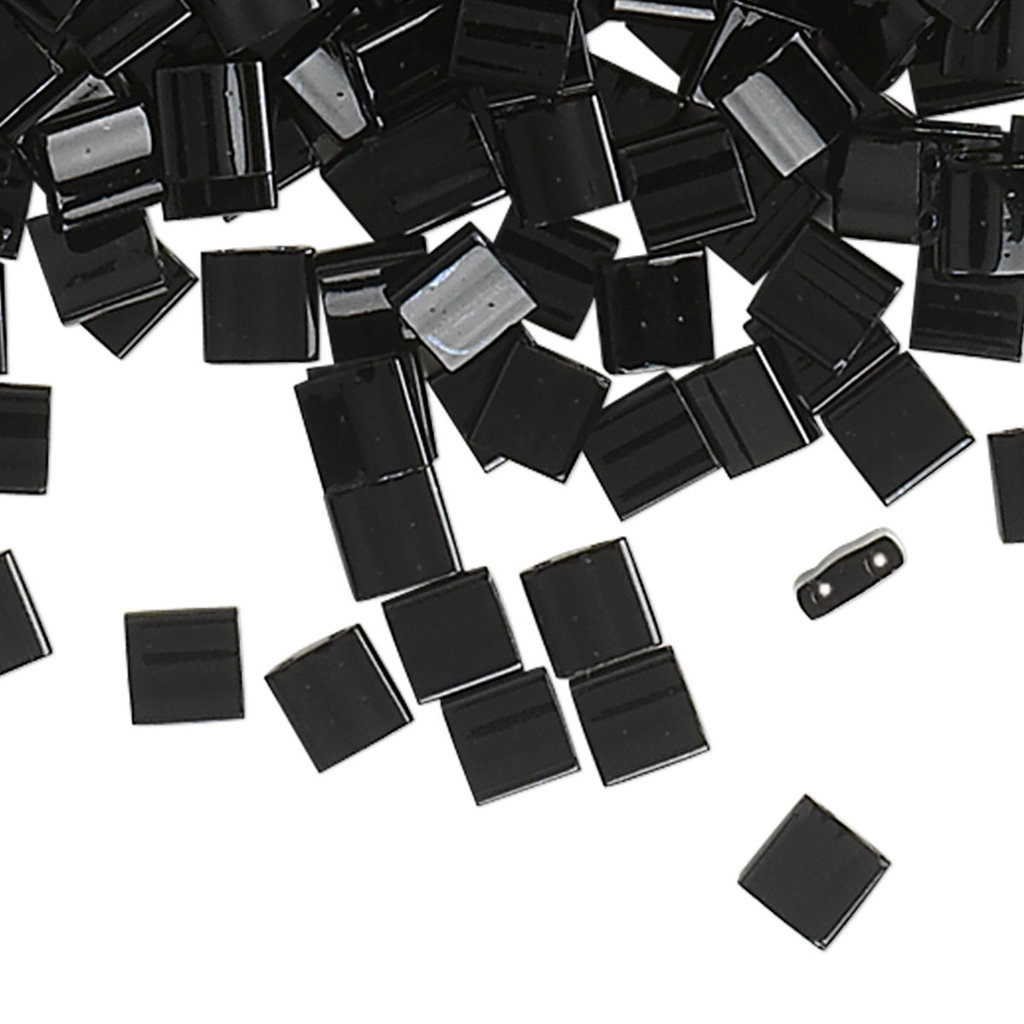 Miyuki Tila Opaque Black 10Gms 1057Se