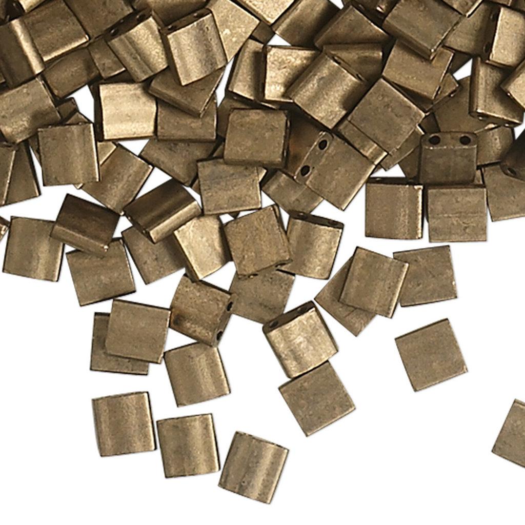 Miyuki Tila Metallic Matte Dk Bronze 10Gms 1075