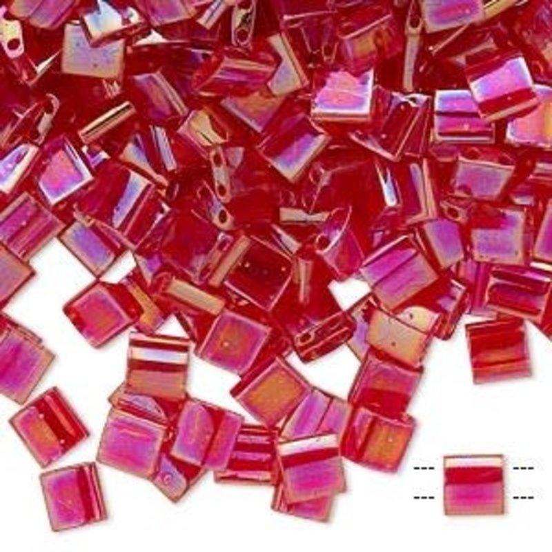 Miyuki Tila Trnsp Rnbw Strawberry 10Gms A1216