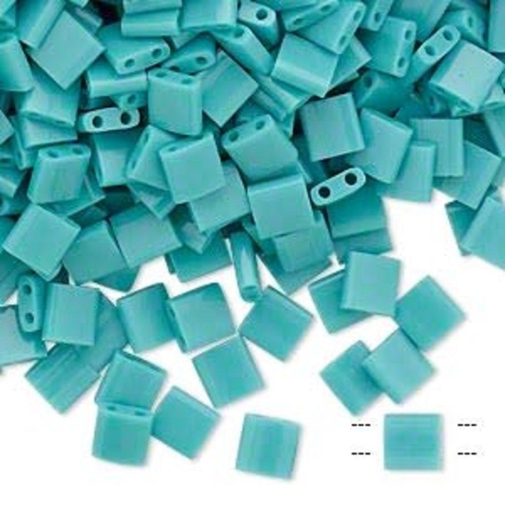 Miyuki Tila Opaque Mint Green 10Gms A1255