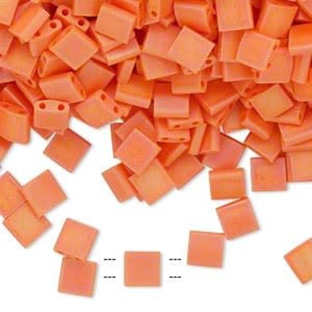 Miyuki Tila Opaque Matte Rnbw Orange 10Gms A1264