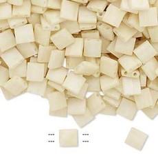 Miyuki Tila Opaque Matte Satin Ivory 10Gms A1279