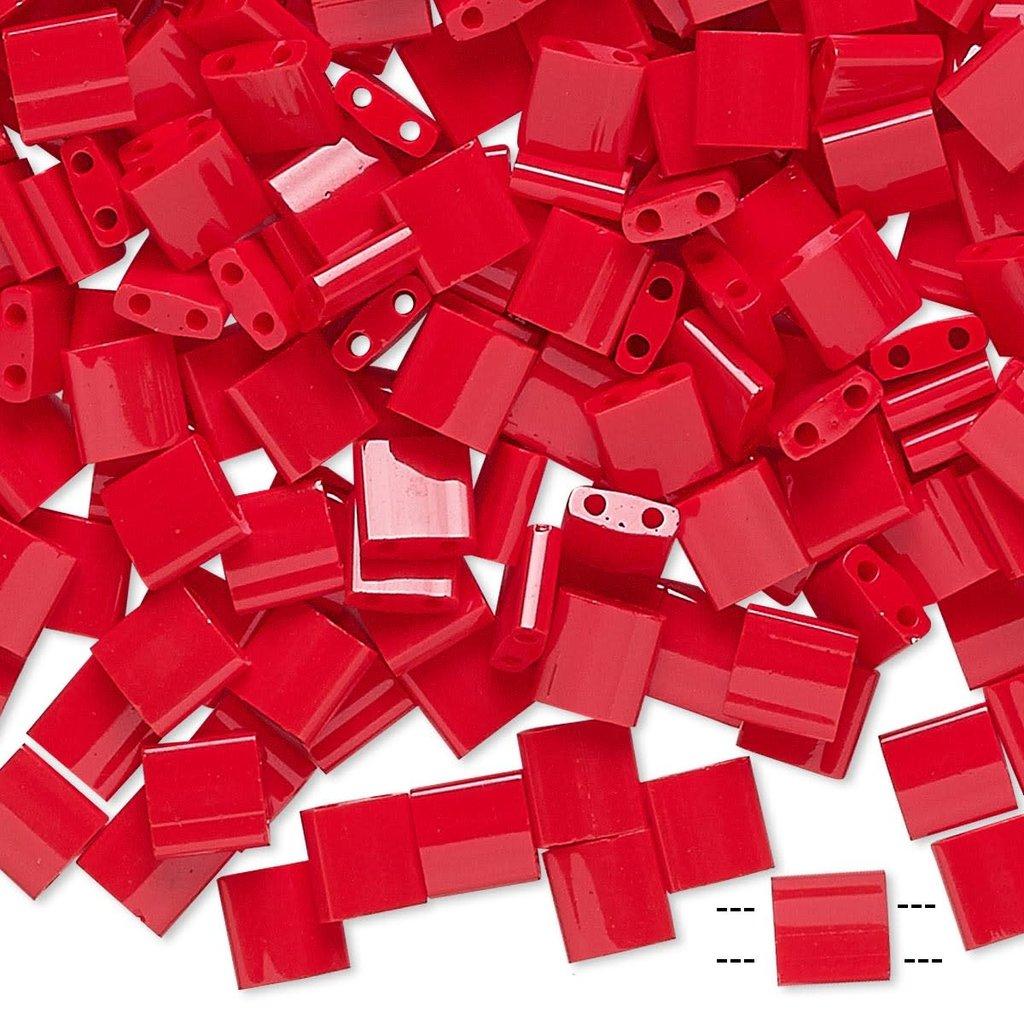 Miyuki Tila Opaque Red 10Gms A1474