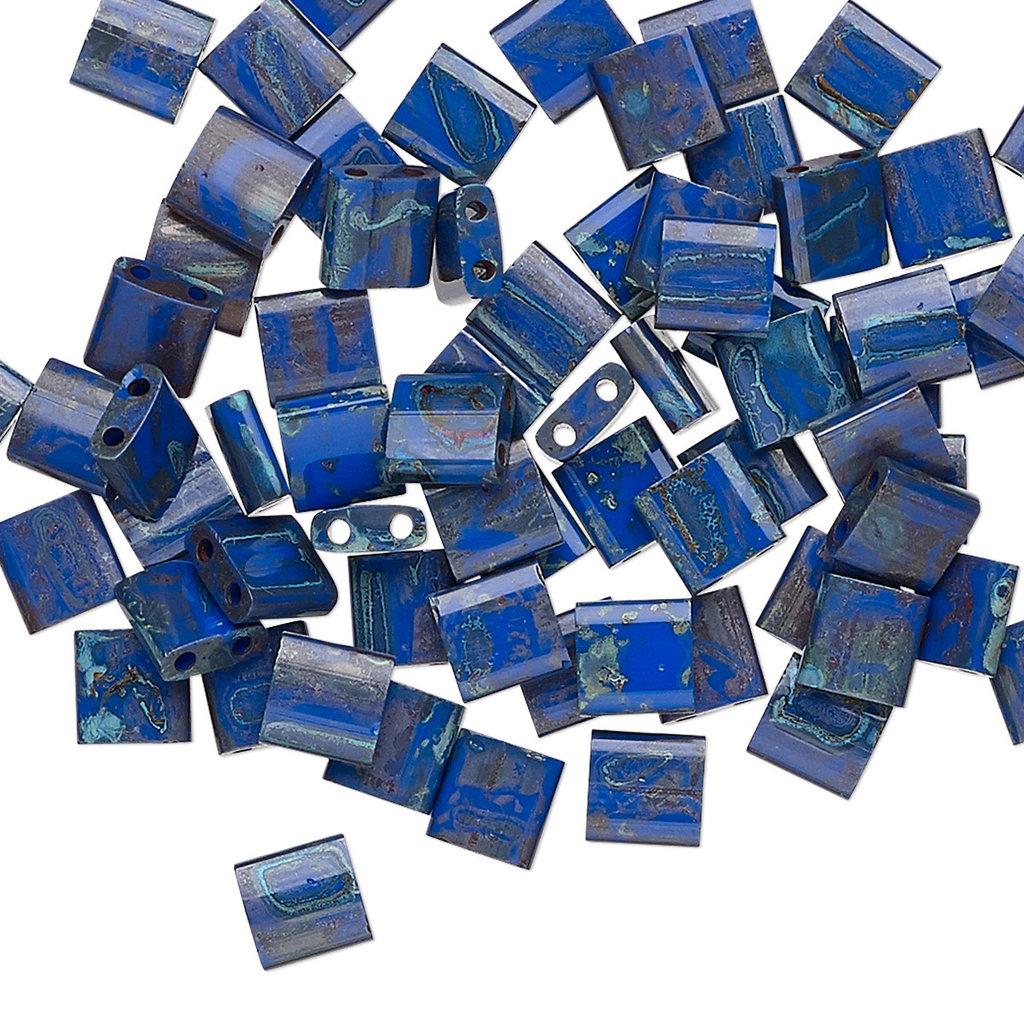 Miyuki Tila Picasso Opaque Cobalt 10Gm 1666