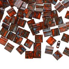 Miyuki Tila Picasso Opaque Red 10Gms 1678