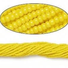 Preciosa Sb#11 Opaque Yellow/Hank
