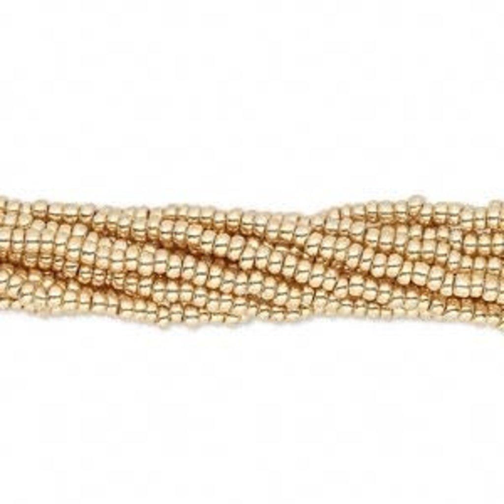 Preciosa Sb#11 Metallic Gold / Hank
