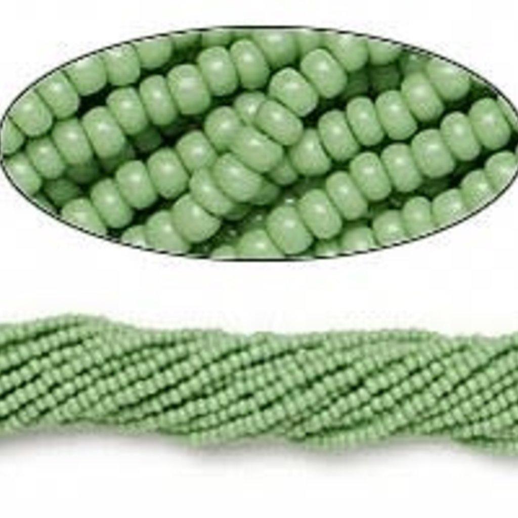 Preciosa Sb#11 Opaque Mint Green/Hank