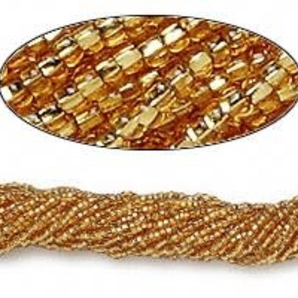Preciosa Sb#11 S-Lined Medium Gold/Hank