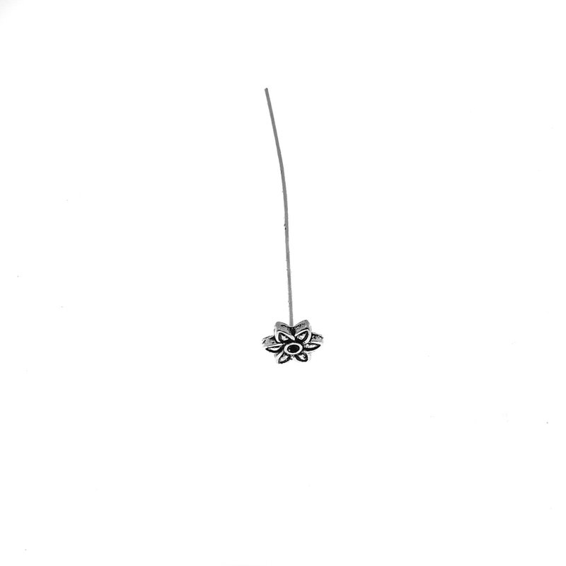 6 Leaf Flower Head Pins 25 pcs.