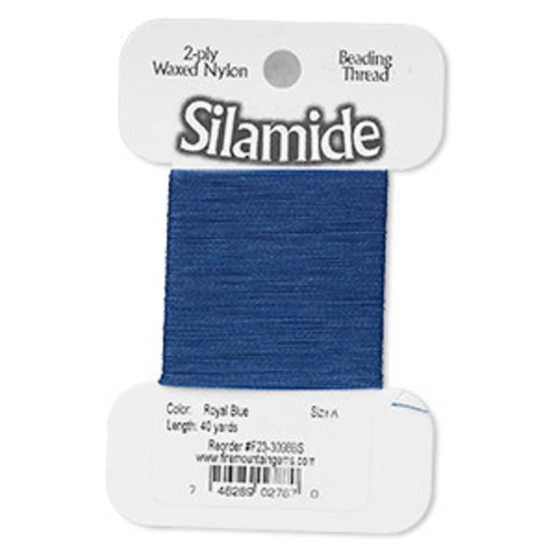 Silamide Silamide Thread Ryl Blue 40Yd