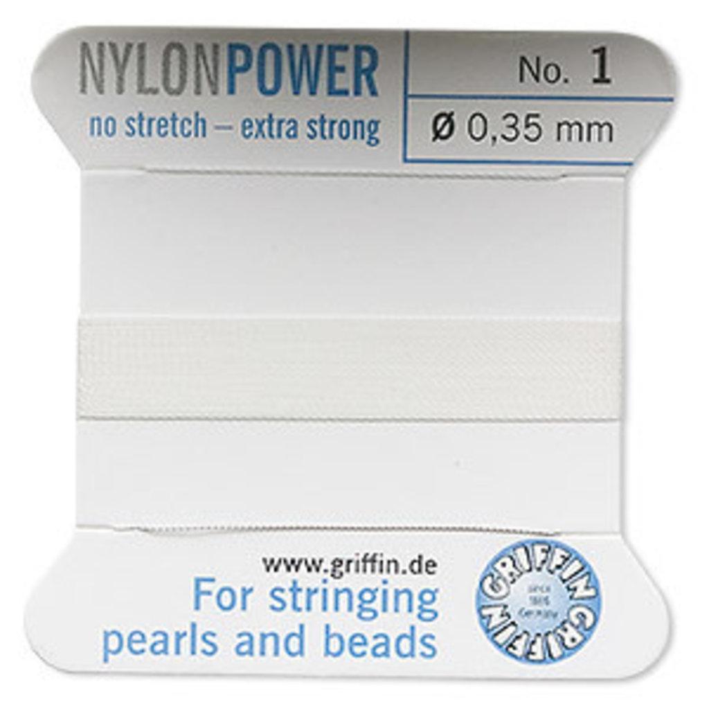 Nylon Thread Thread Nylon White #1 2Yrds