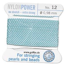 Nylon Thread Thread Nylon Turquoise #12 2Yrds